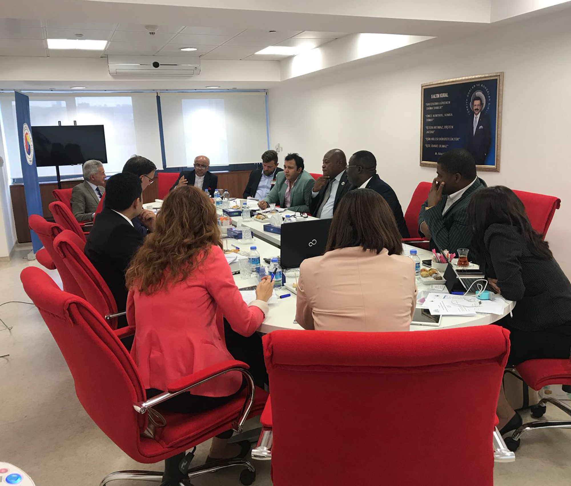 Second Working Committee Meeting of D-8 Federation of